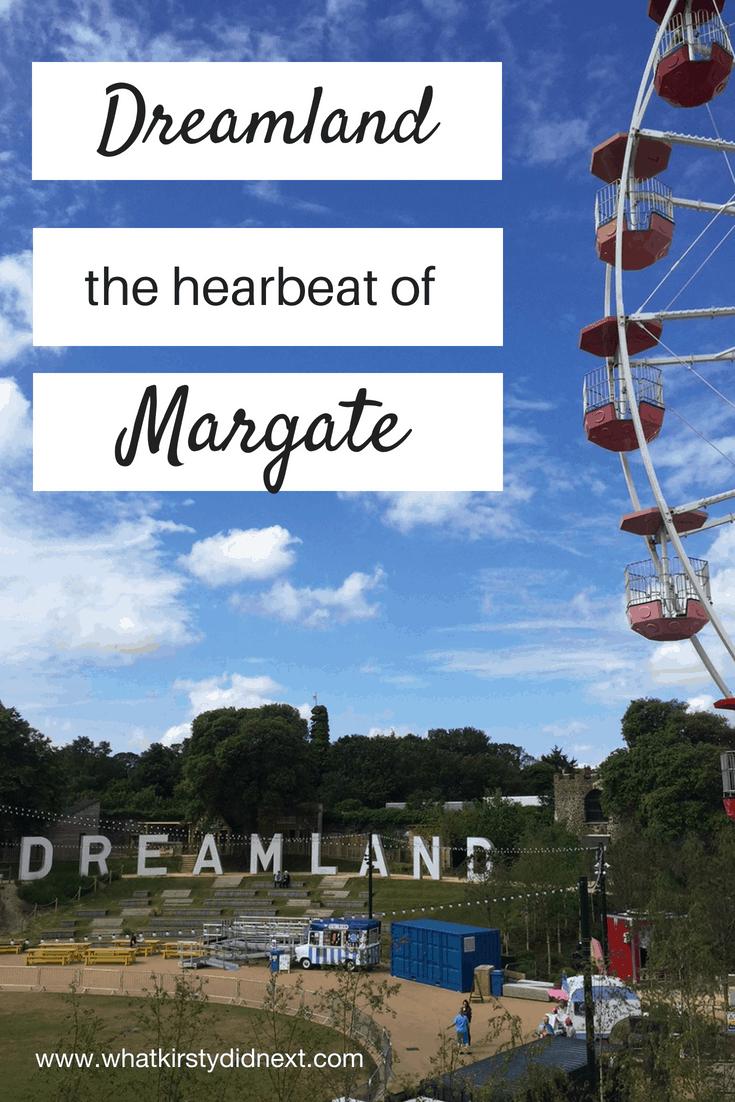 Dreamland amusement park in Margate, UK