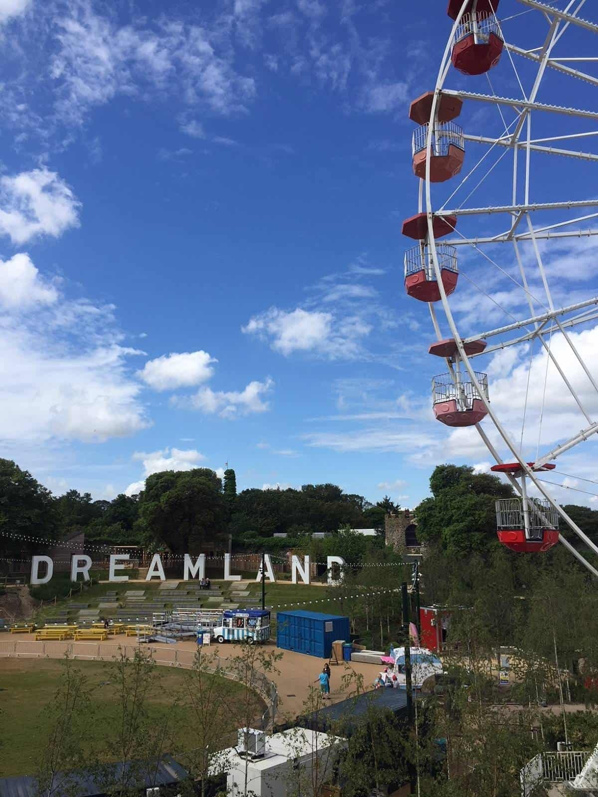 Dreamland theme park in Margate