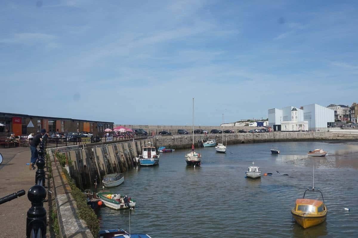 Margate harbour