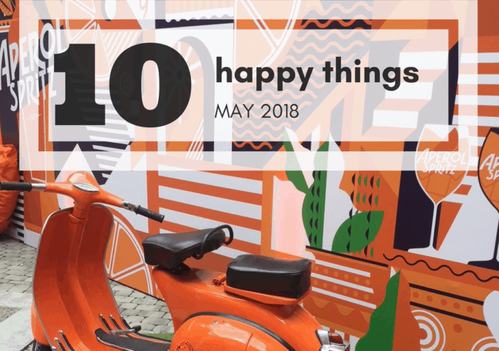 Ten happy things Mat 2018