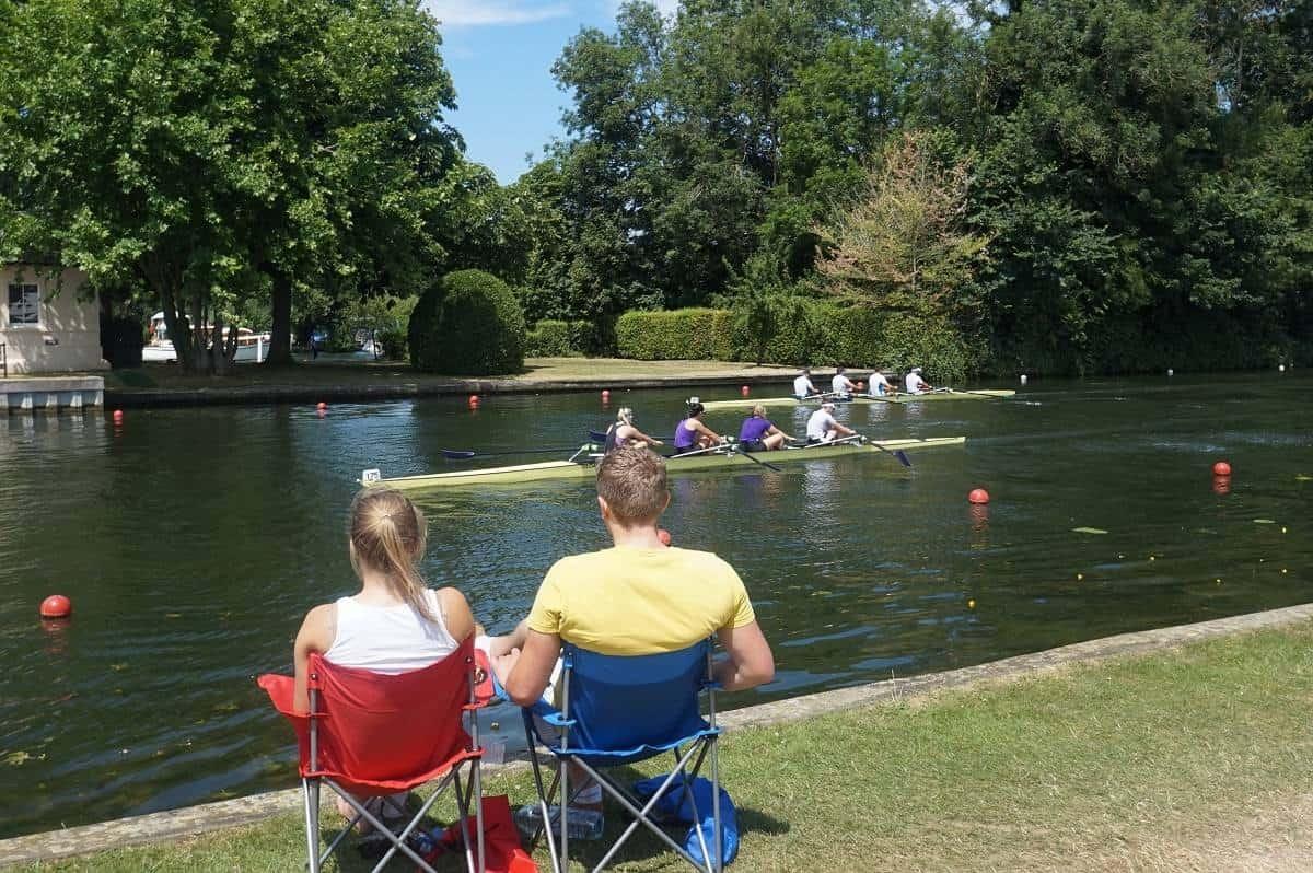 Henley Regatta spectators