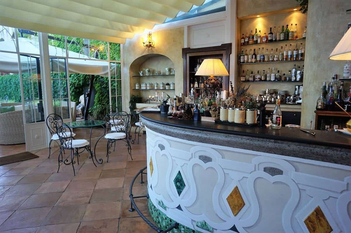 Bar at Il Flauto di Pan