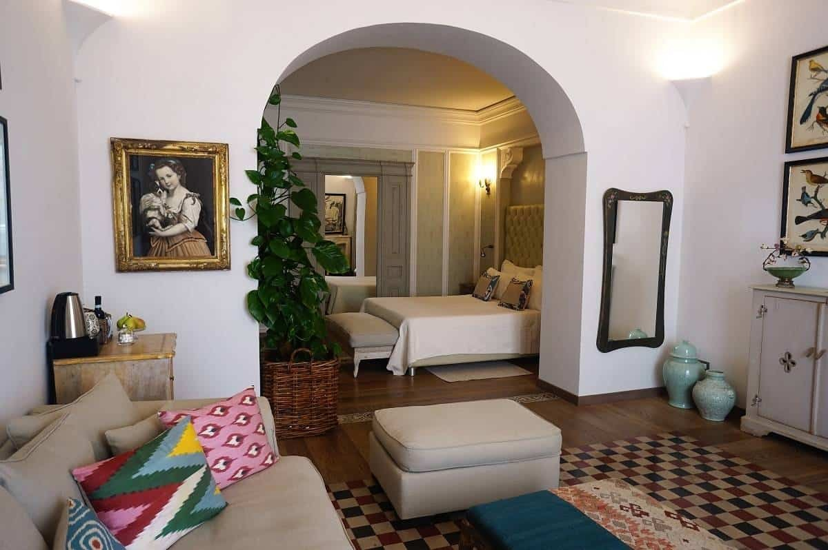 A boutique stay at Casa Buonocore in Positano