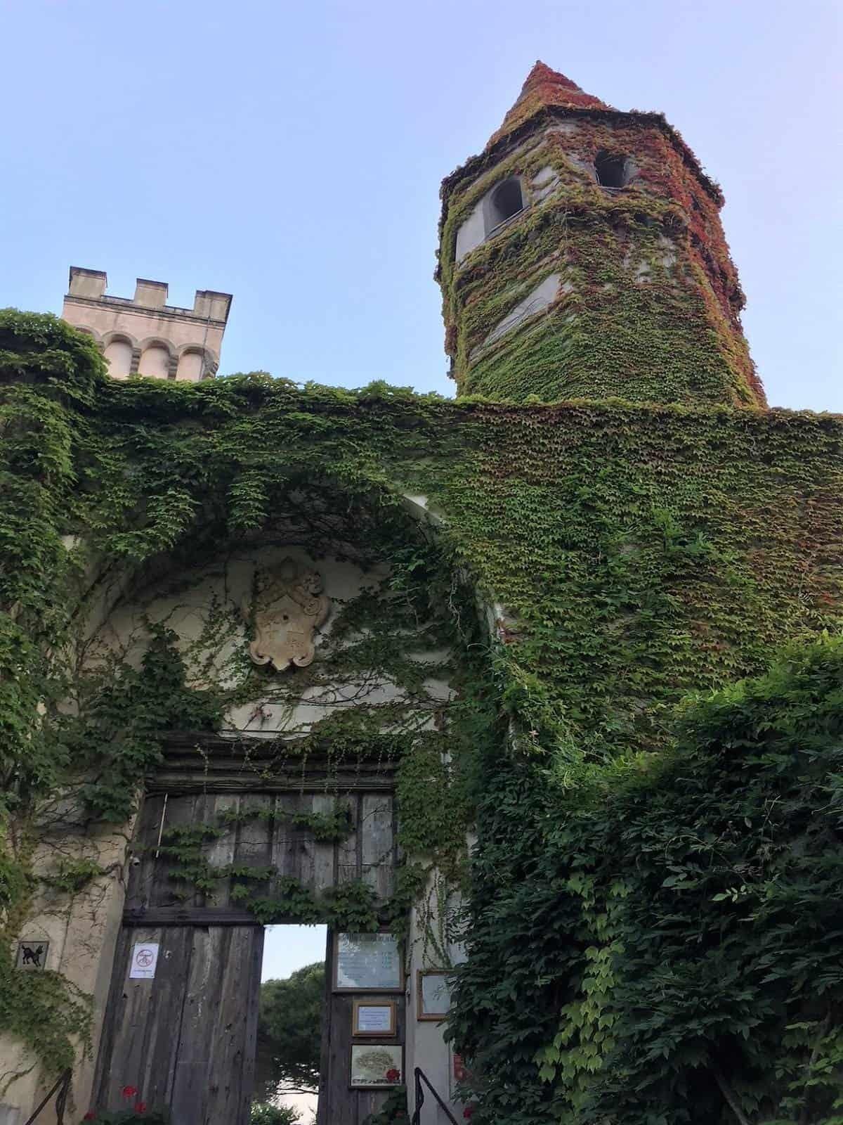 Entrance to Villa Cimbrone