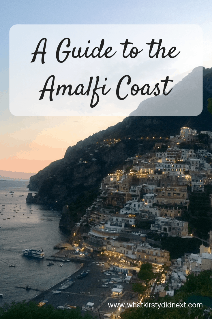 A guide to the Amalfi Coast