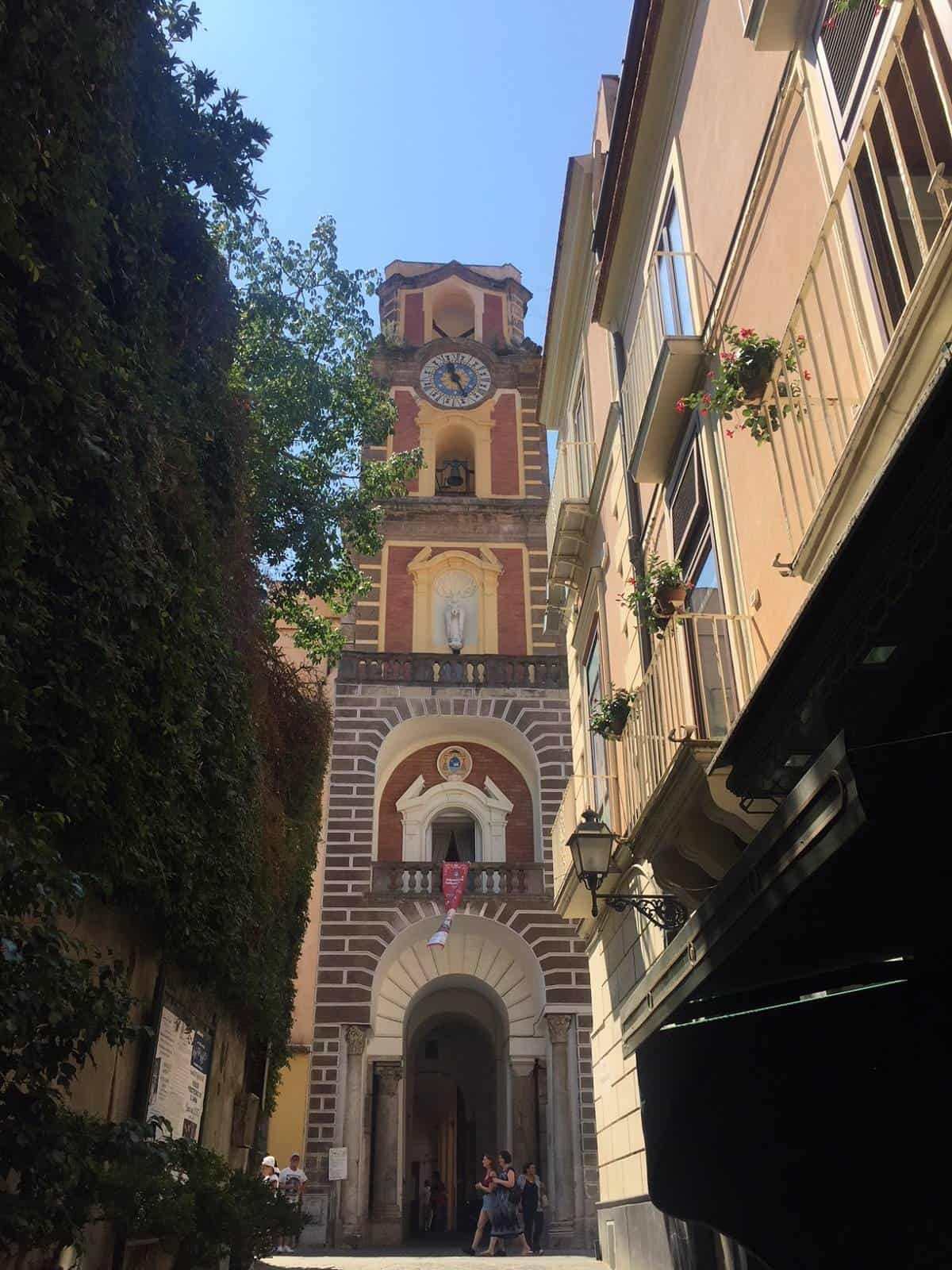Sorrento's Duomo Bell Tower