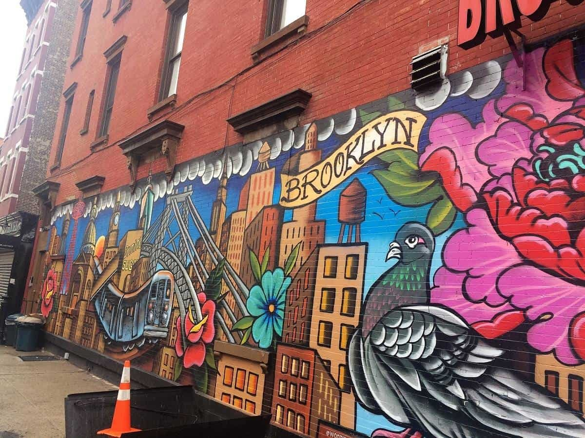 Brooklyn street art in New York
