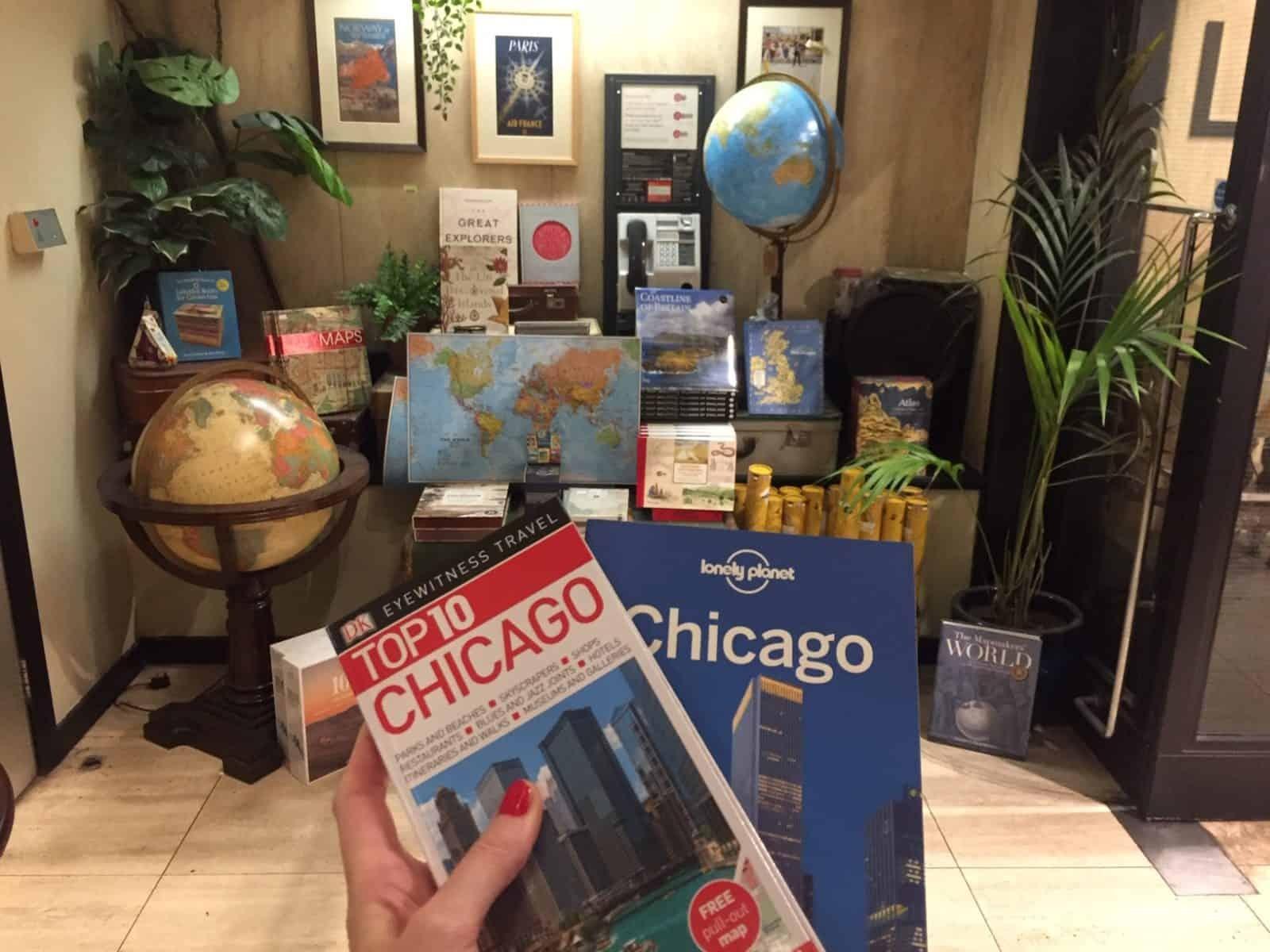 Chicago guide books