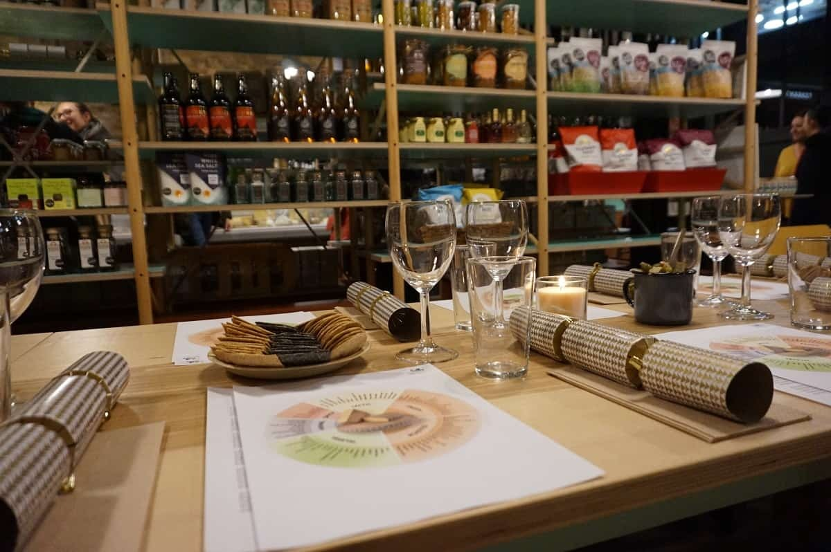 Comte Cheese event at Camden Grocer