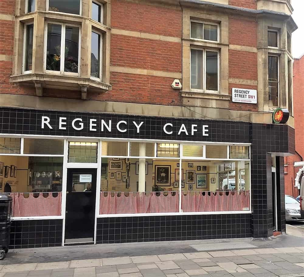 Regency Cafe in Pimlico