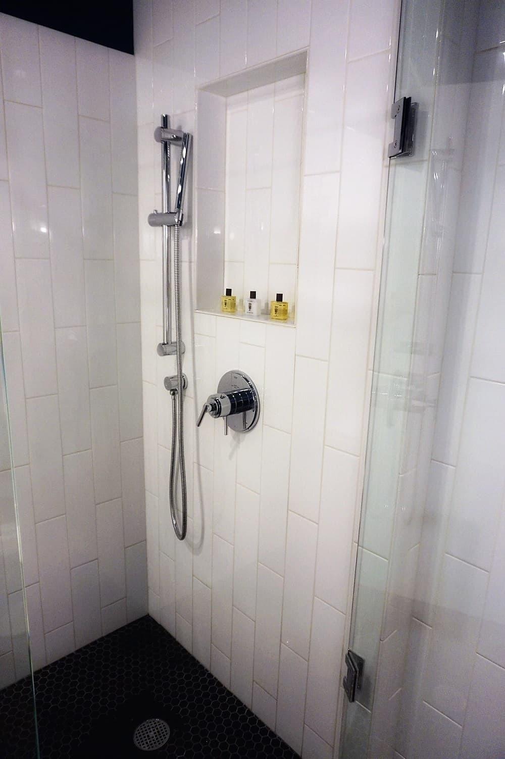 Shower at Thompson Chicago