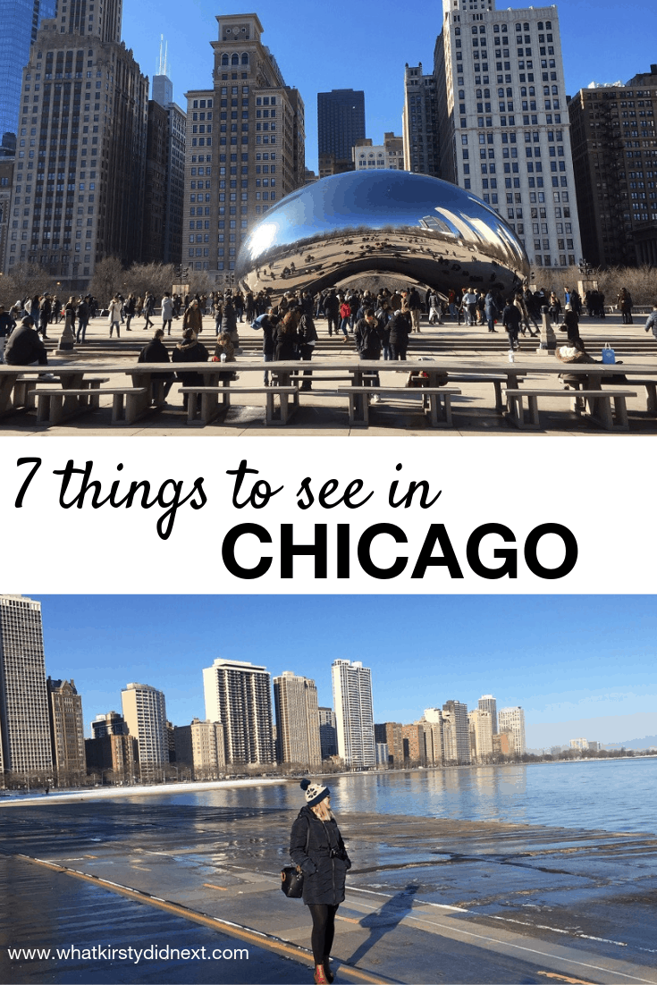 Seven things to see in Chicago