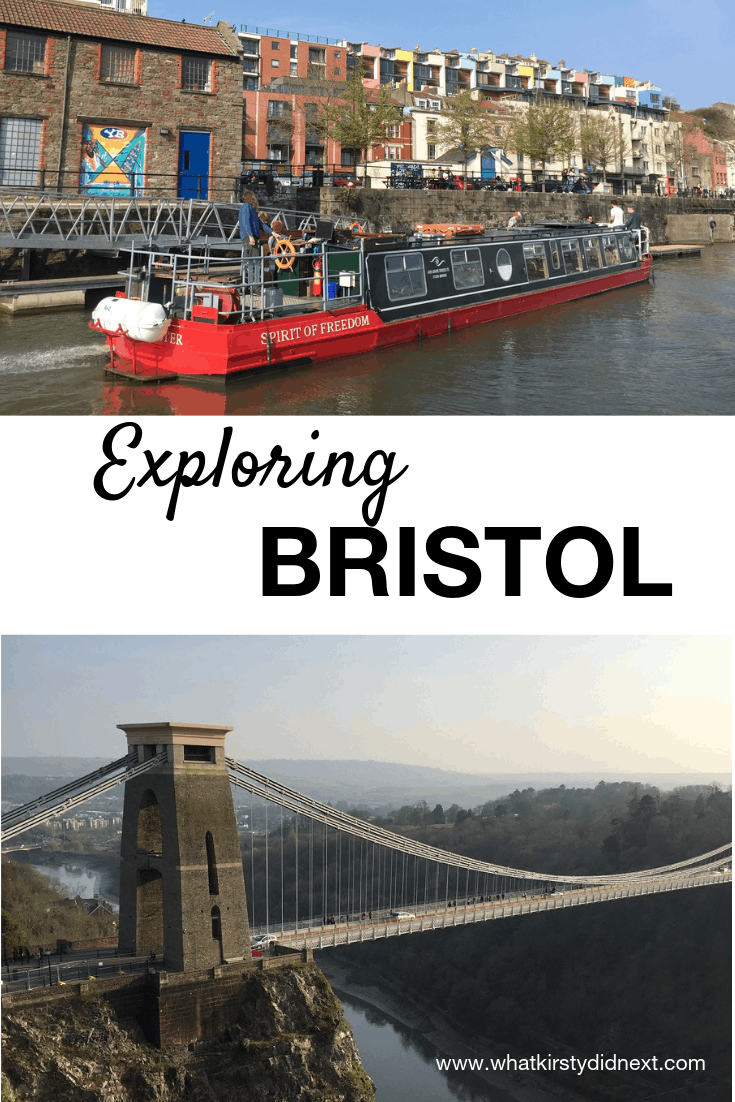 Exploring Bristol in the UK
