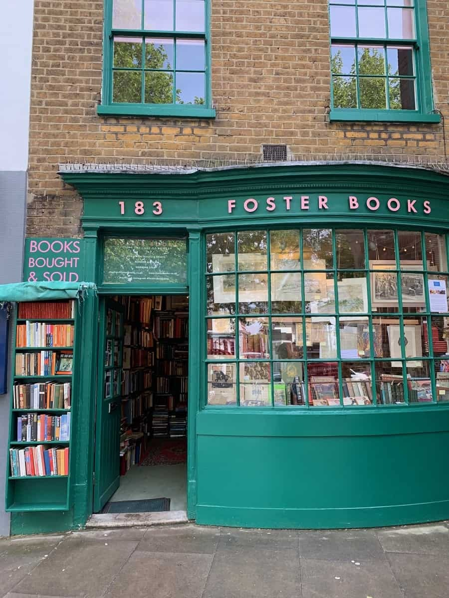 A lovely bookshop in Chiswick