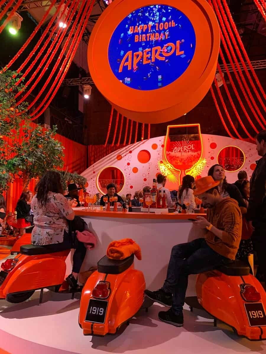 Aperol birthday celebrations