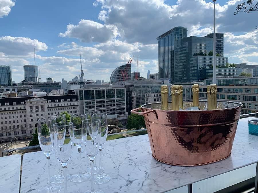 Aviary London rooftop bar