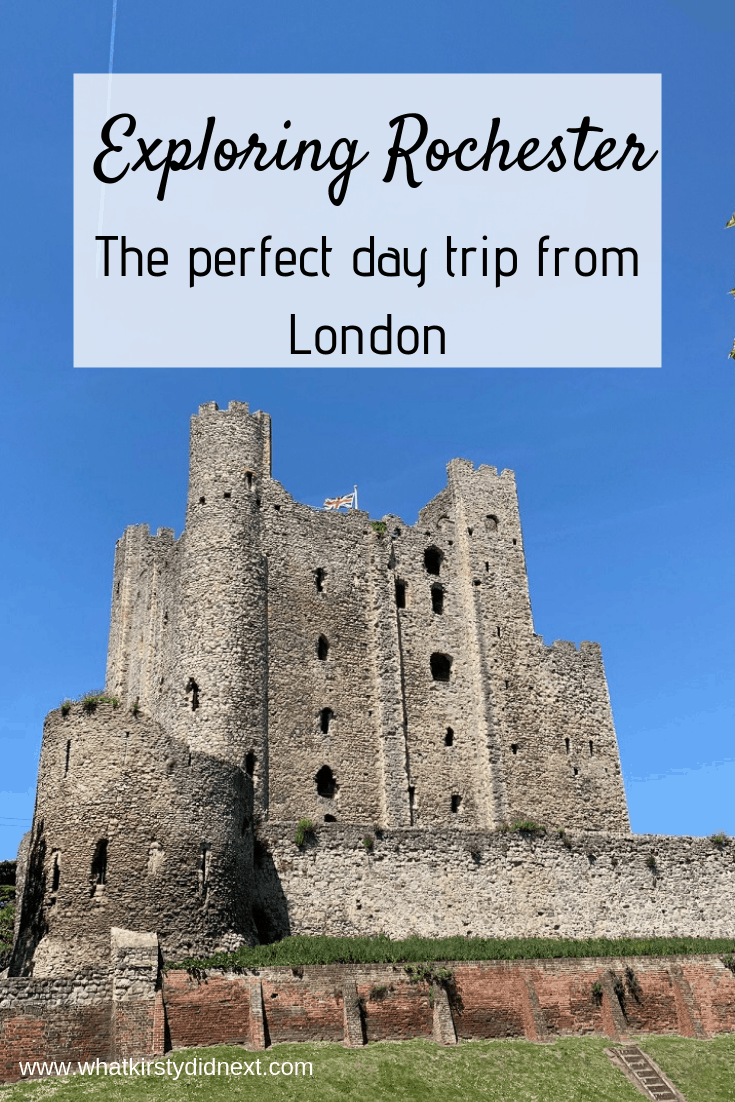 Rochester is the perfect day trip from London