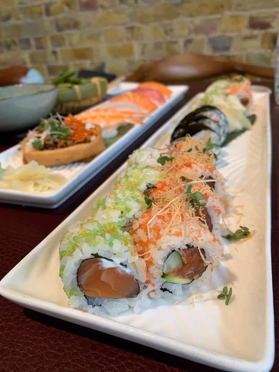 Sushi feast at Sticks 'n Sushi