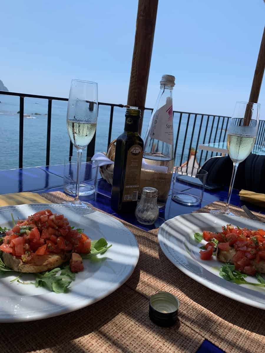 Lunch at Umberto a Mare in Ischia