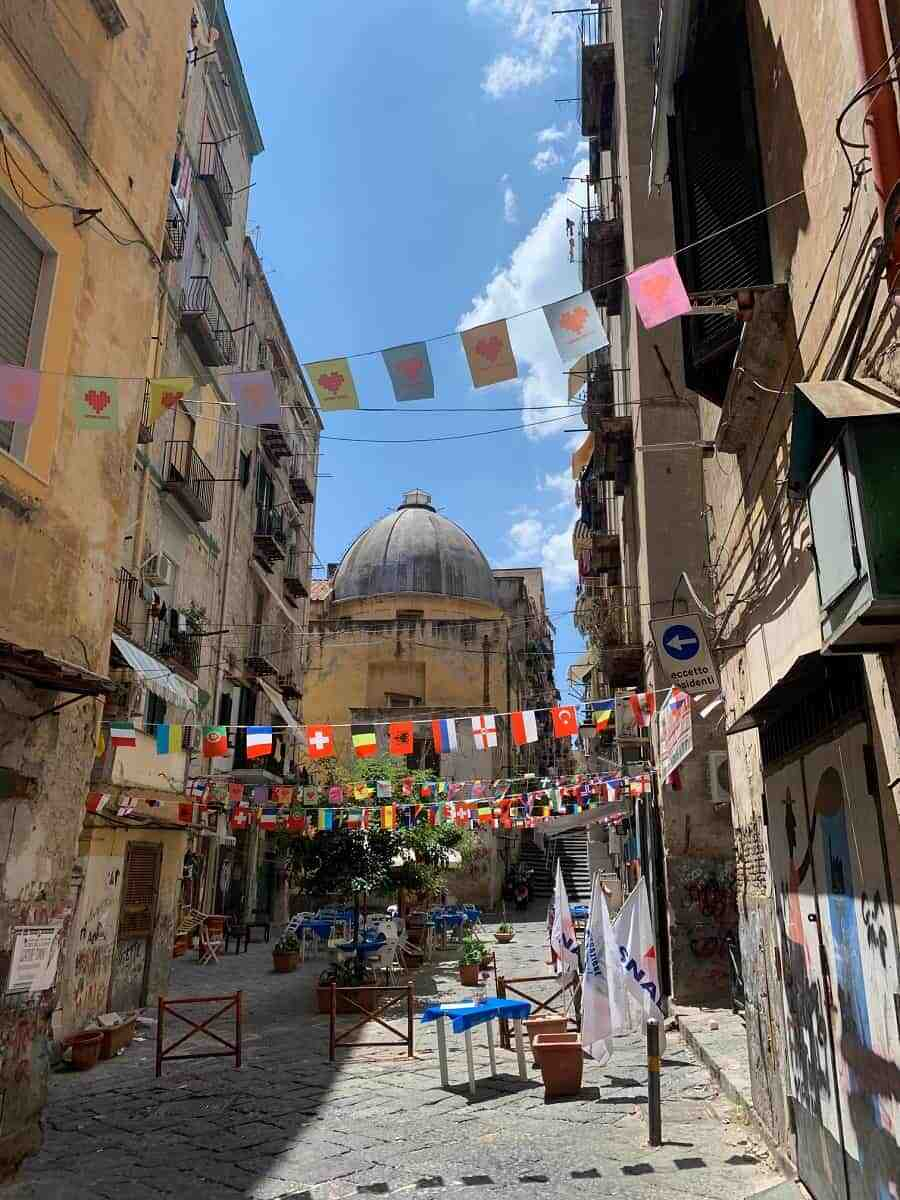 Spanish Quarter in Naples