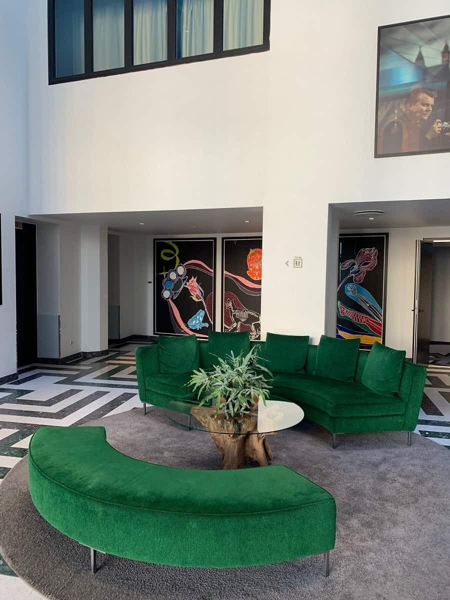 Reception area Skt Petri
