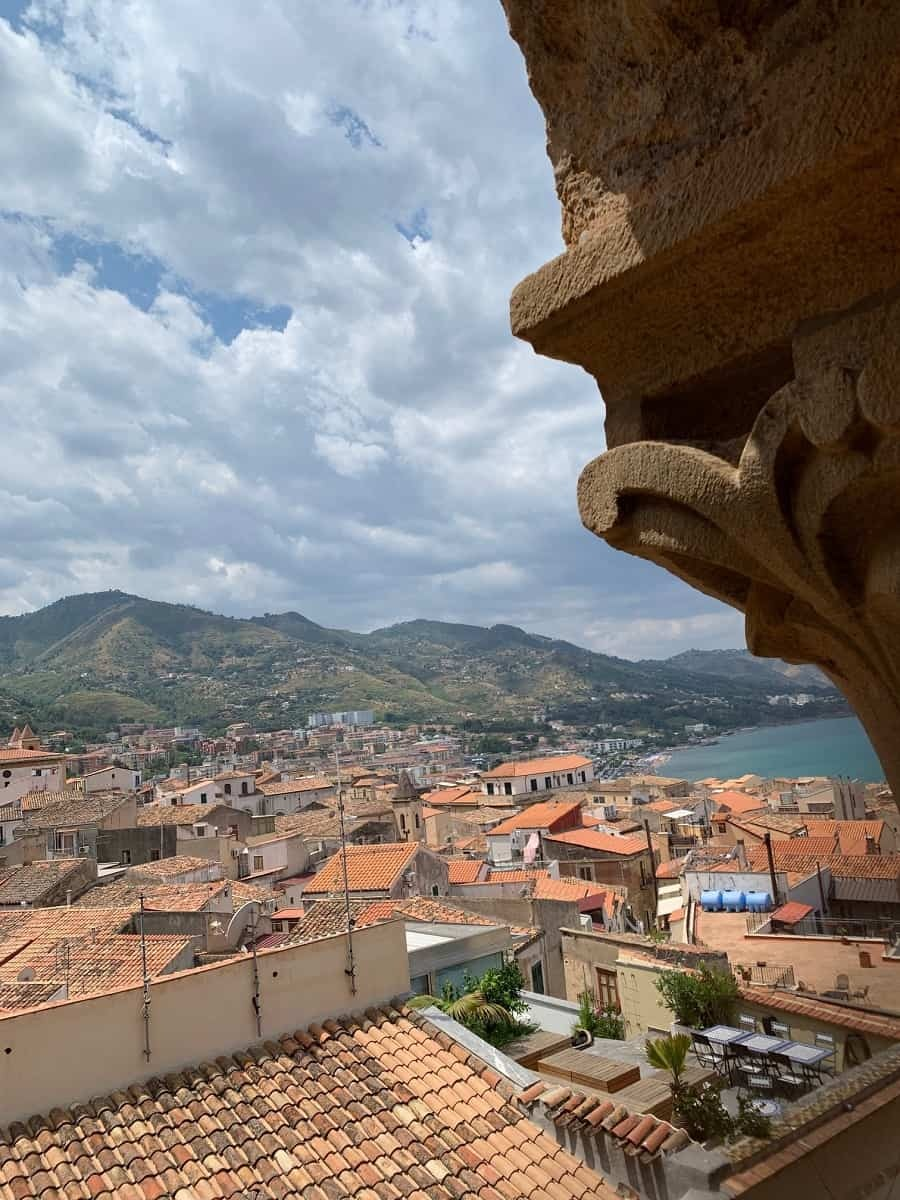 Cefalu view from the duomo