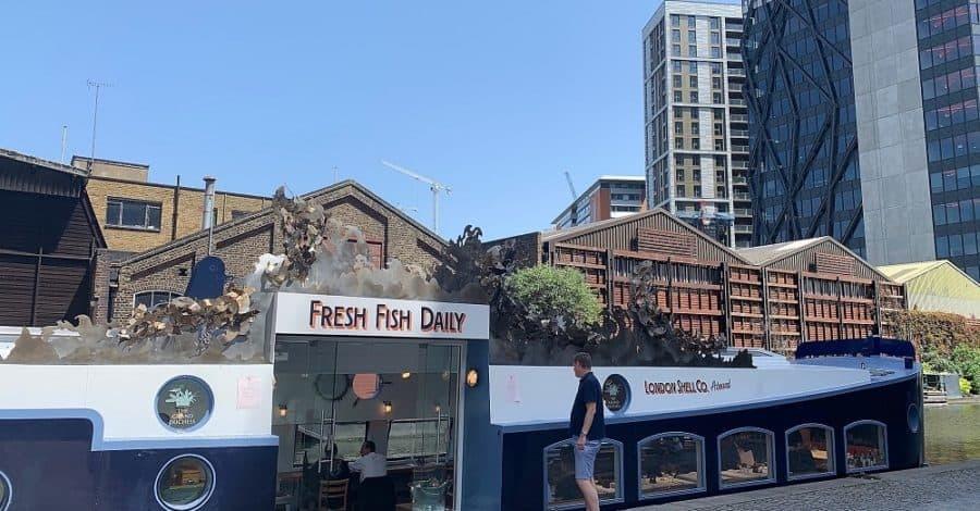 The Grand Duchess floating restaurant