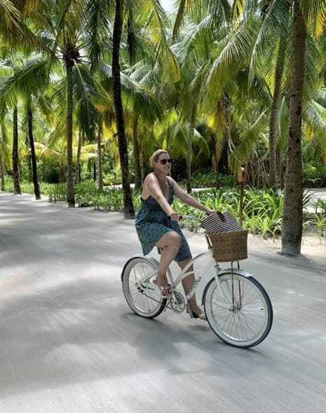Cycling at Reethi Rah