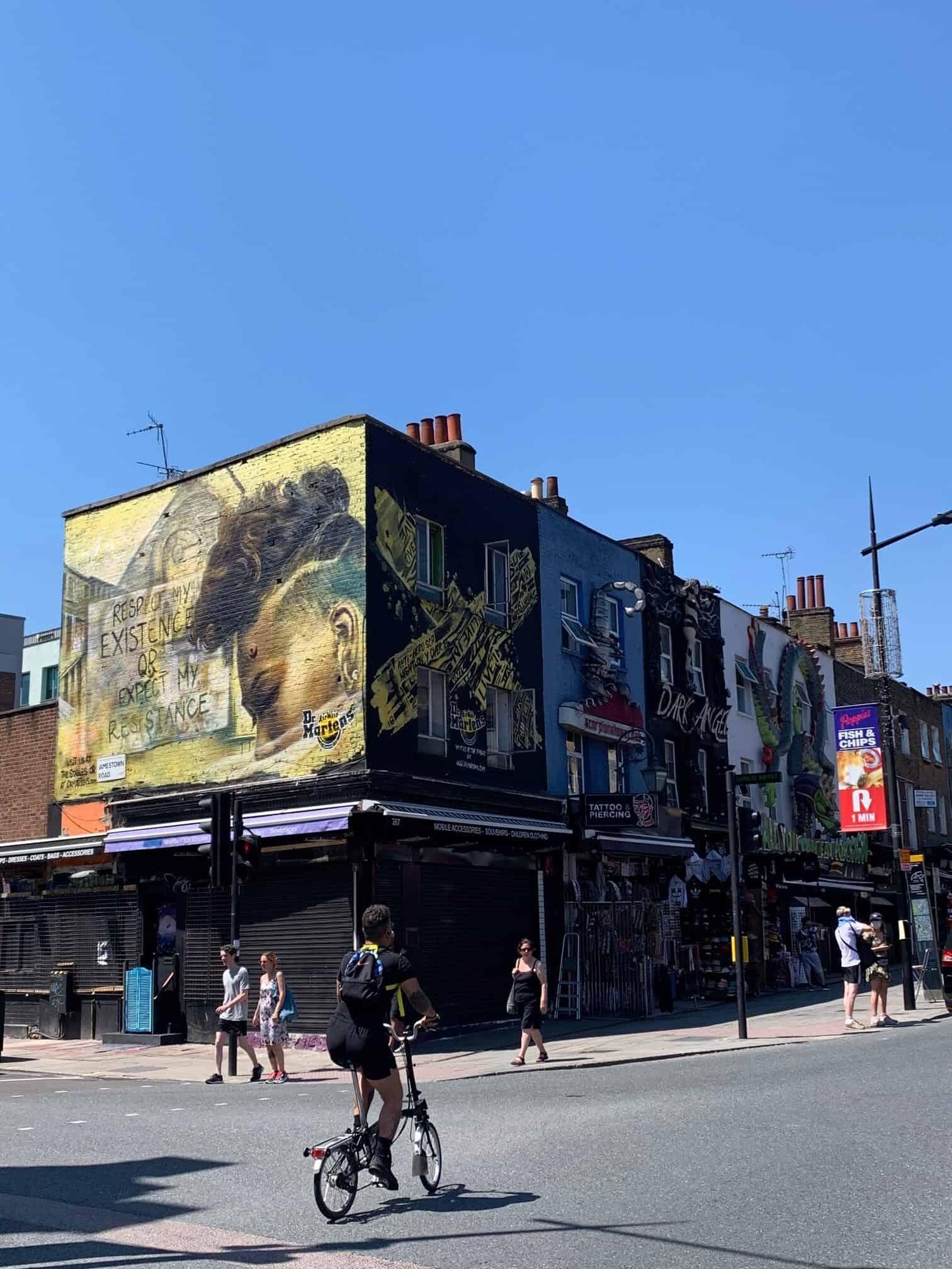 Shops in Camden in London