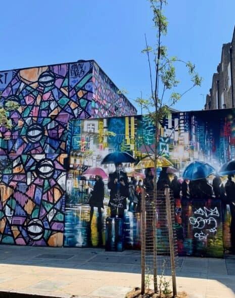 Street art in Camden
