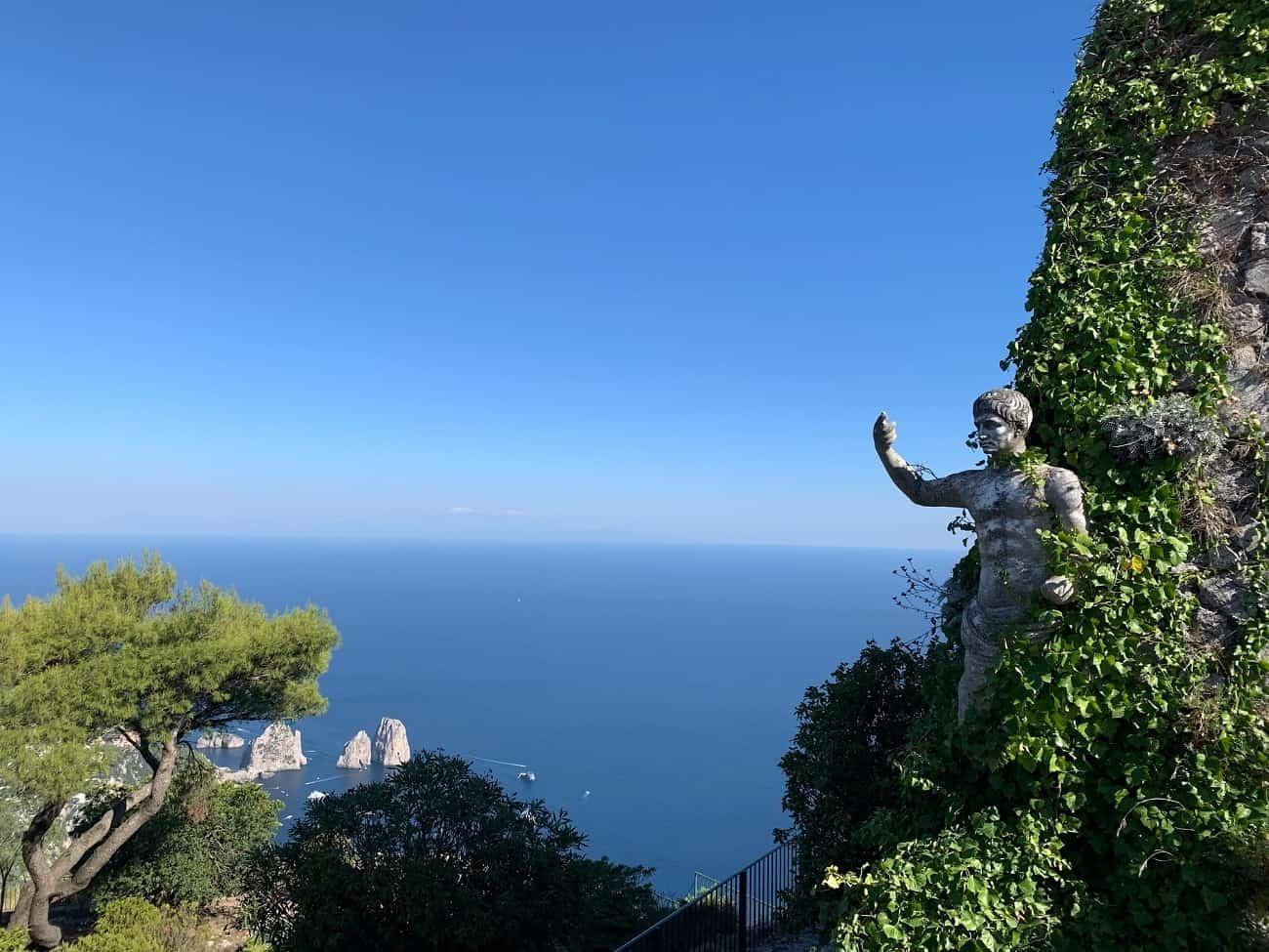 Panoramic view of Capri