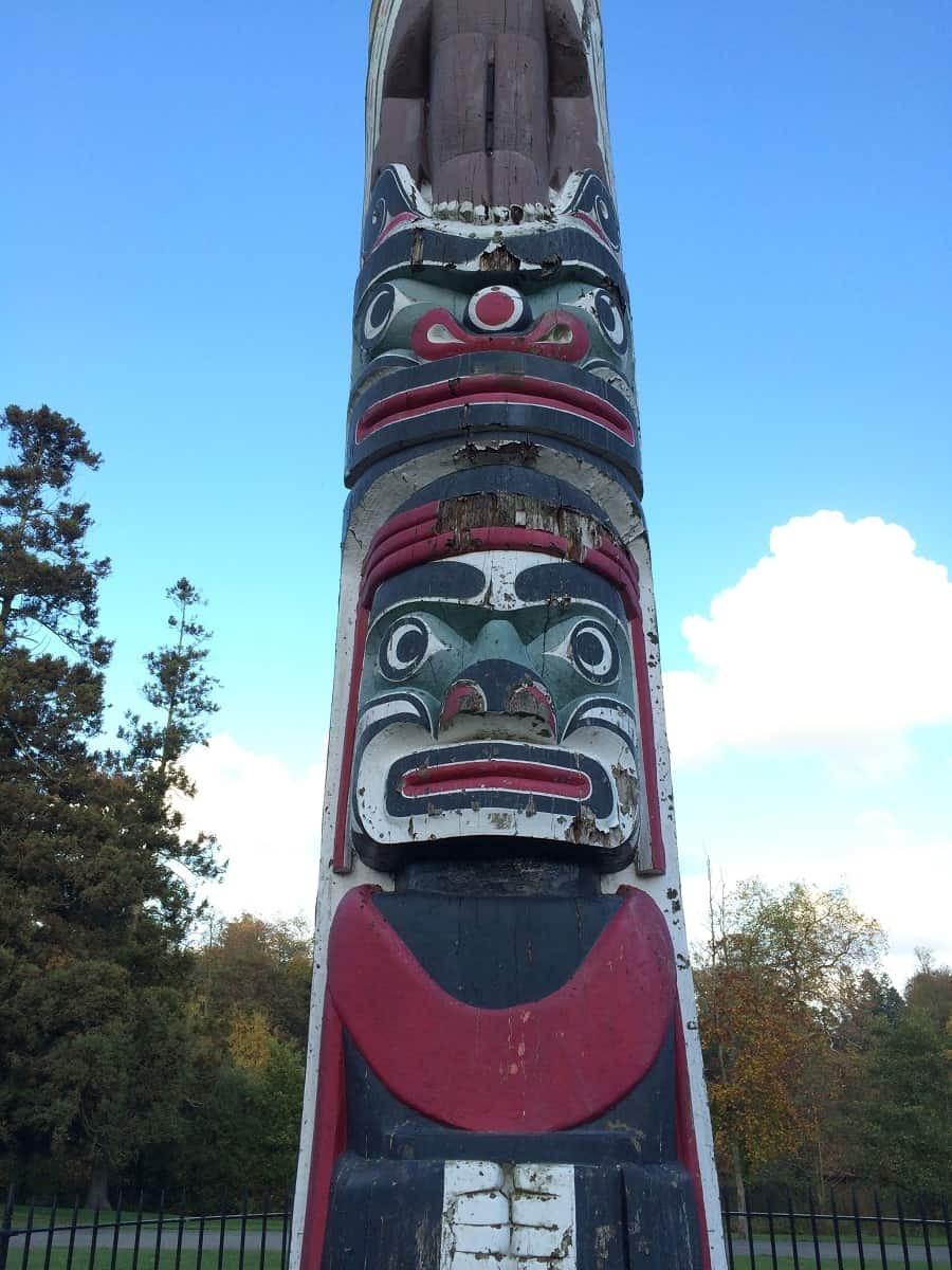 Totem in Windsor Great Park