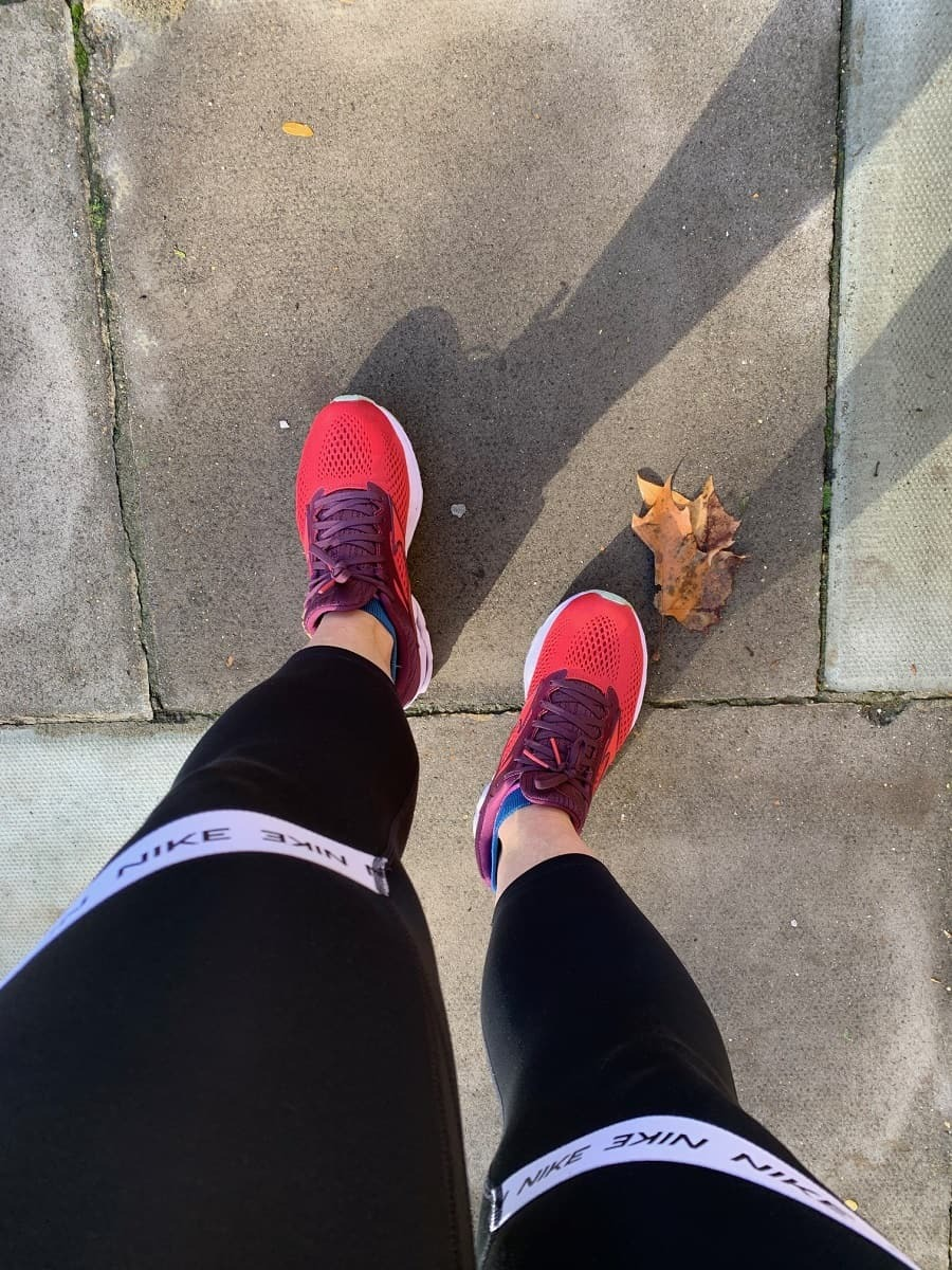 Going for a run