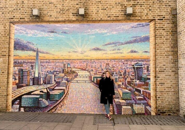 London mural by Jimmy C