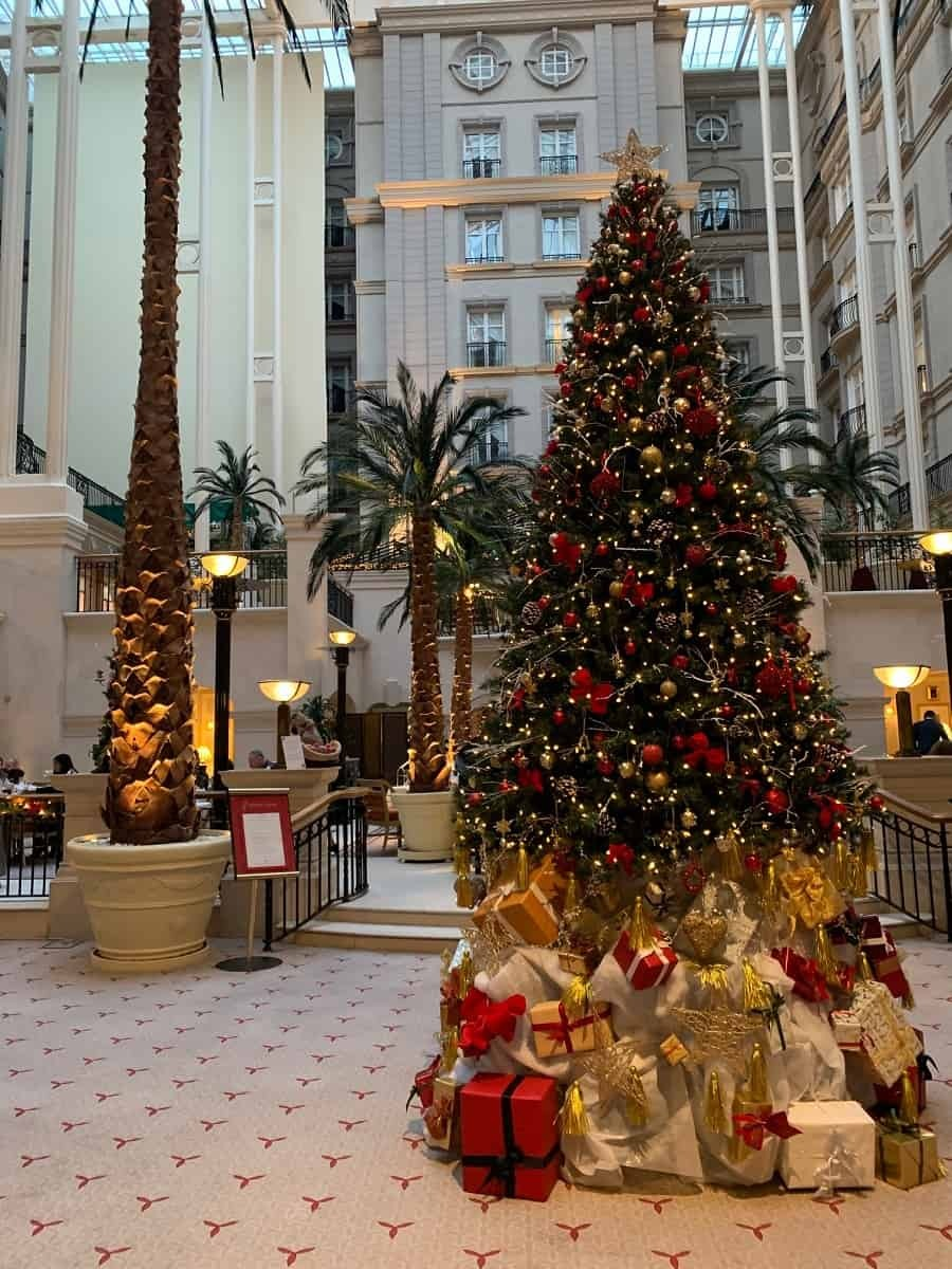 Winter Garden Christmas tree