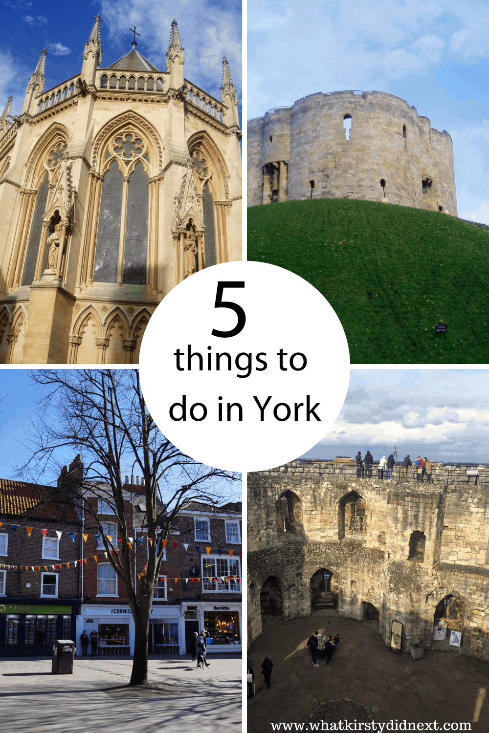 Five things to do in York