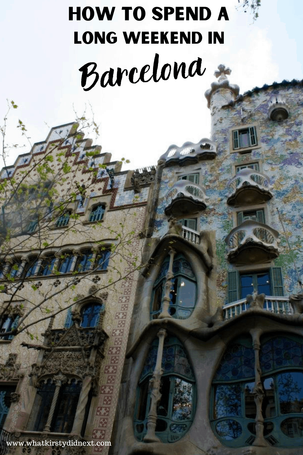 How to spend a long weekend in Barcelona