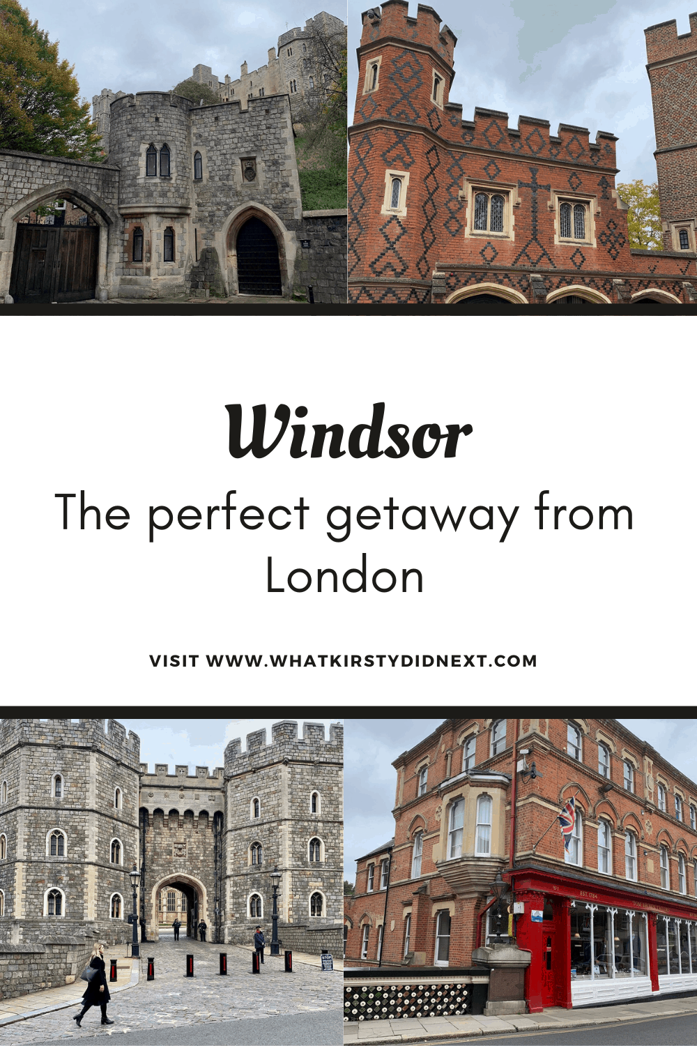 Windsor is the perfect getaway from London
