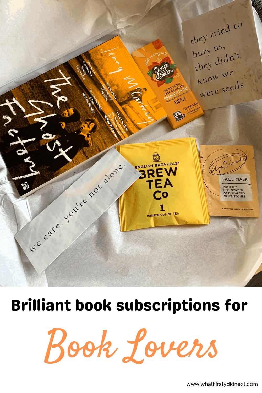 Brilliant book subscription services