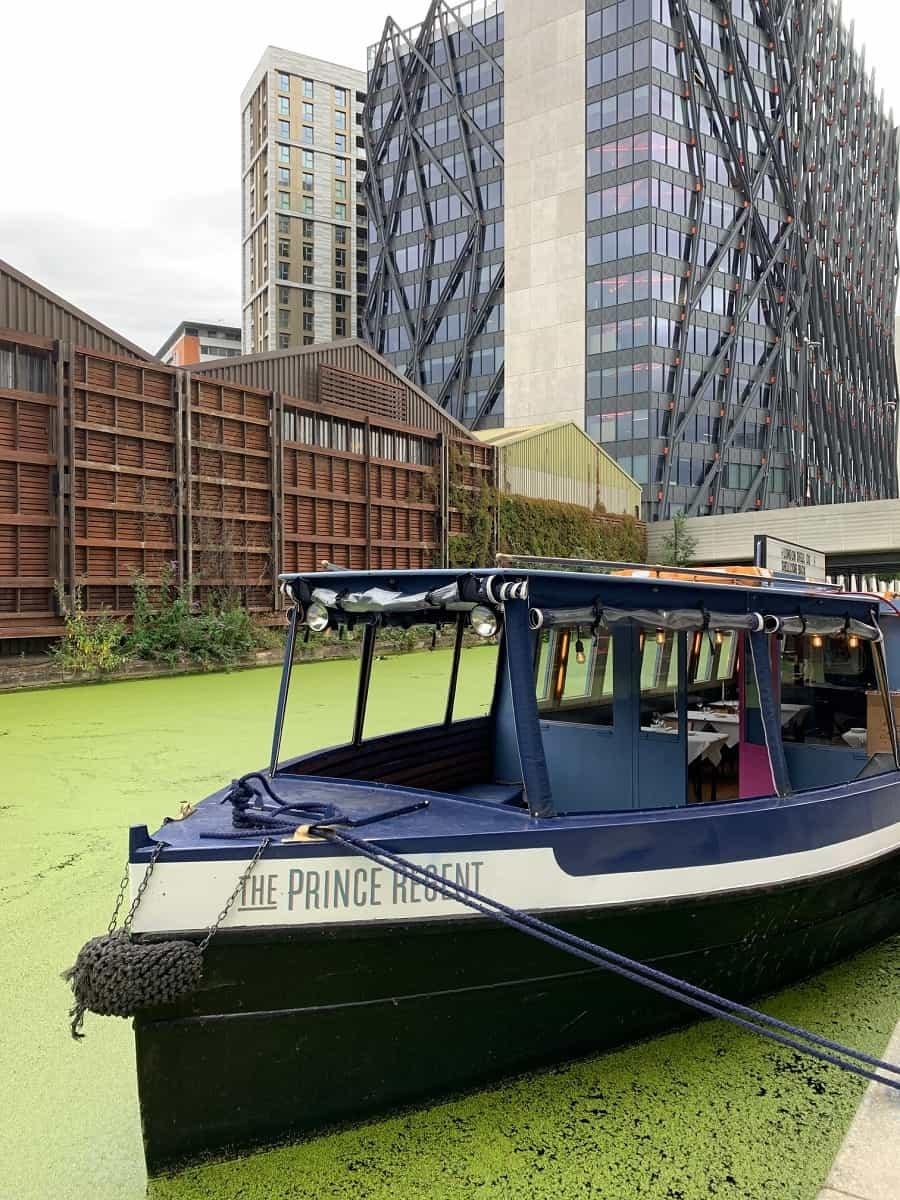 The Prince Regent floating restaurant